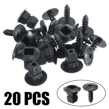 10pcs/ser Car Auto TX25 Screws Expansion Nut Wheel Arch Liner Wheel Arch Clips Fit For SEAT Alhambra Altea Leon Accessories image