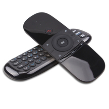 цена на Wechip W1 Keyboard Mouse Wireless 2.4G Fly Air Mouse Rechargeble Mini Remote Control For Android Tv Box/Mini Pc/Tv