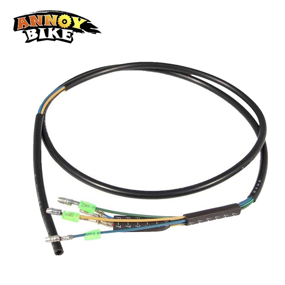 2pcs/lot Motor Wires/cable Brushless DC Motor 3*2.0mm Motor Phase+5pcs Hall Sensor Wires
