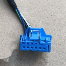 6 Pin/Way Rearview Mirror Switch Plug For Audi,Sunroof Reading Light Connector With Wire Harness Cable Pigtail For VW 6Q0972706