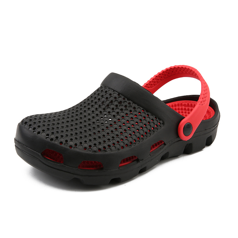 New Rushed Mens 2019 Beach Shoes Outdoor Sandals Breathable Men Antiskid Slides Couples Flip Clogs Slip-on Croc Zapatillas