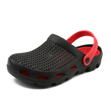 New Rushed Mens 2020 Beach Shoes Outdoor Sandals Breathable Men Antiskid Slides Couples Flip Clogs S