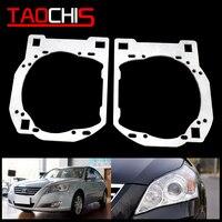 Taochis estilo do carro adaptador quadro farol suporte de transição para hyundai sonata hella 3r g5 5 koito q5 lente do projetor
