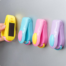 Food Insurance Mini Sealing Machine Candy Color Portable Hand Pressure Snack Plastic Bag Clip Small Heat Kitchen Tool