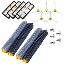 Replace Brush Kit Parts Accessories for iRobot Roomba 800 805 860 861 870 871 880 885 890 900 960 980 series, a set of 18