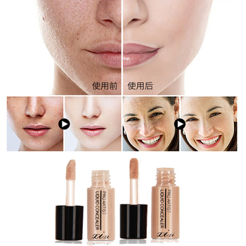3.5ML Eye Lip Liquid Concealer Waterproof Long Lasting Face Cream Concealer Face Scars Cover Smooth Moisturizing Facial Makeup image