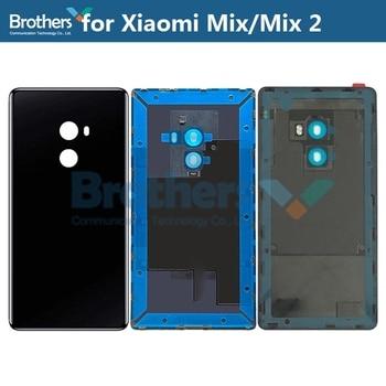 Battery Housing for Xiaomi Mi Mix Mix2 Mix 2 Battery Door Back Cover Rear Housing for Mix Evo No Camera Lens Glass Repair Parts