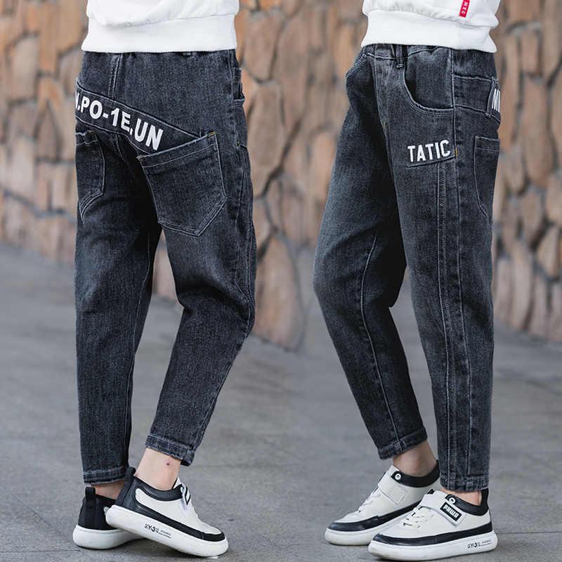 Moda Pantalones Vaqueros Para Chicos 2020 Primavera Ninos Adolescentes Otono Ropa Pantalones Vaqueros Para 6 16 Anos Ropa De Nino Vaqueros Aliexpress