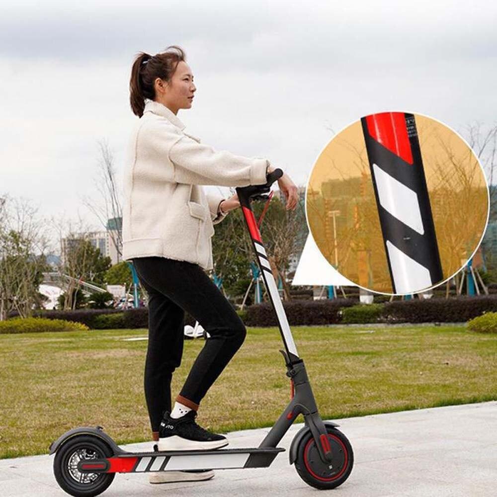 13 цветов светоотражающие наклейки для Xiaomi Mijia M365 электрический скутер аксессуары для скейтборда высокое качество