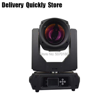 Super Bright Beam 350W 17R Moving Head Light Stage DJ Disco 2pcs Prism 14Colors 17Gobos Use For Perferman Club