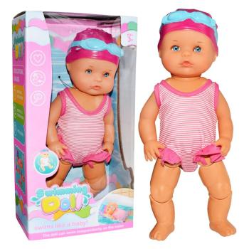 2020New Waterproof Swimming Doll Kid Girls Toy Swimming Water Doll Electric Dolls Joint Movable Dolls Best Gift Toy For Children недорого