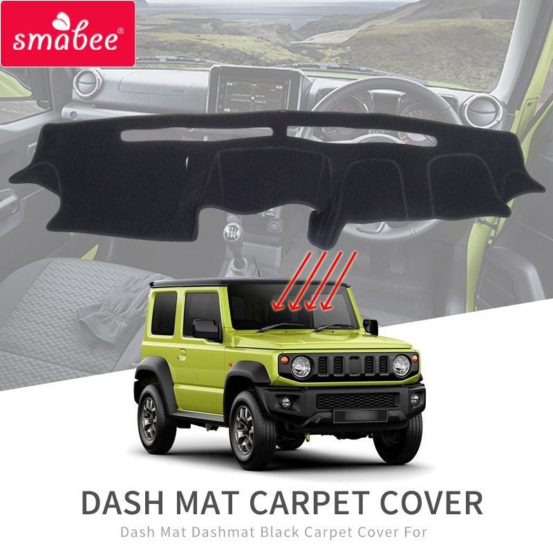 for Suzuki Jimny 2019 2020 Dash Mat Dashmat Anti-Slip Mat Dashboard Pad Protective Cover Sunshade Dashmat Carpet Accessories
