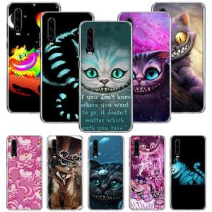 Чехол для телефона Алиса в стране чудес Чеширский кот для Huawei P20 P30 P40 P10 Mate 30 10 20 Lite Pro P Smart Z 2018 2019