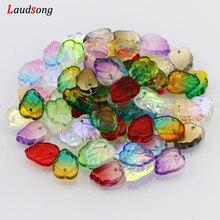 10-50Pcs Multicolor AB lascia distanziatori perline di vetro ceco per gioielli che fanno accessori fatti a mano braccialetto collana fai da te
