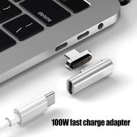 Magnetic 4K Type-C to Type-C Charging Adapter Converter for MacbookS Pro Air