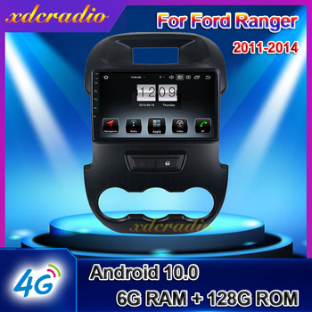 Xdcradio 9 Android 10.0 Auto Radio For Ford F250 Ranger Car DVD Multimedia Player Auto GPS Navigation Carplay 4G BT 2011-2014 image