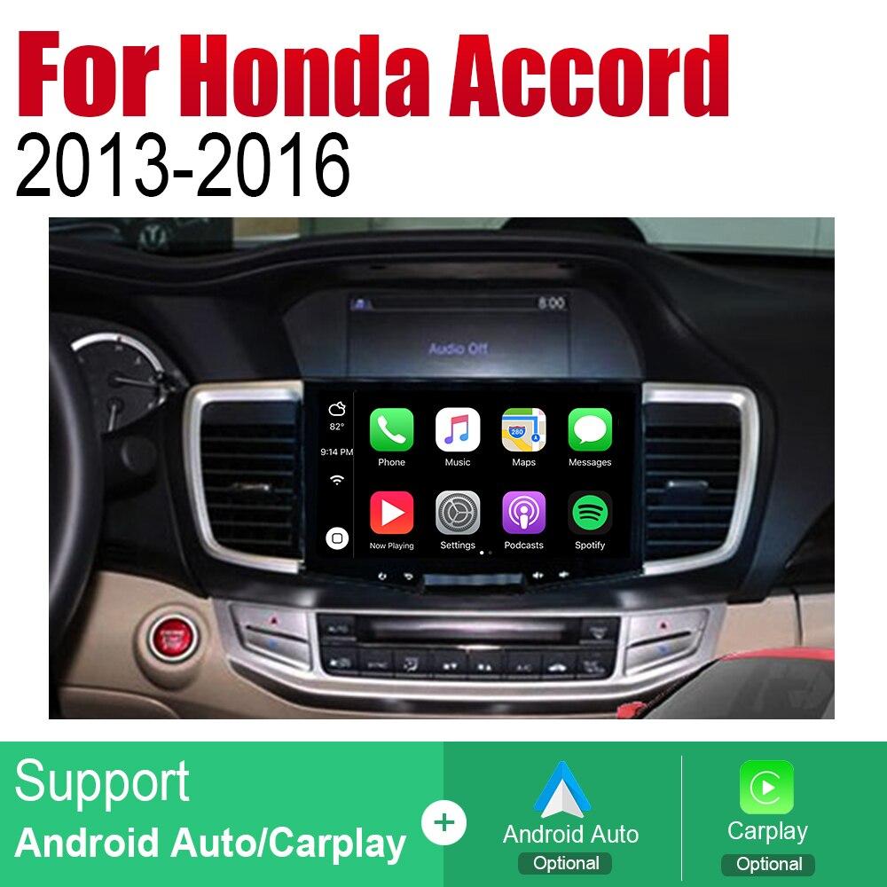 ZaiXi Android Car Radio Stereo GPS Navigation For Honda Accord 2013 2016 Bluetooth wifi 2din Car Multimedia Player Audio in Car Multimedia Player from Automobiles Motorcycles