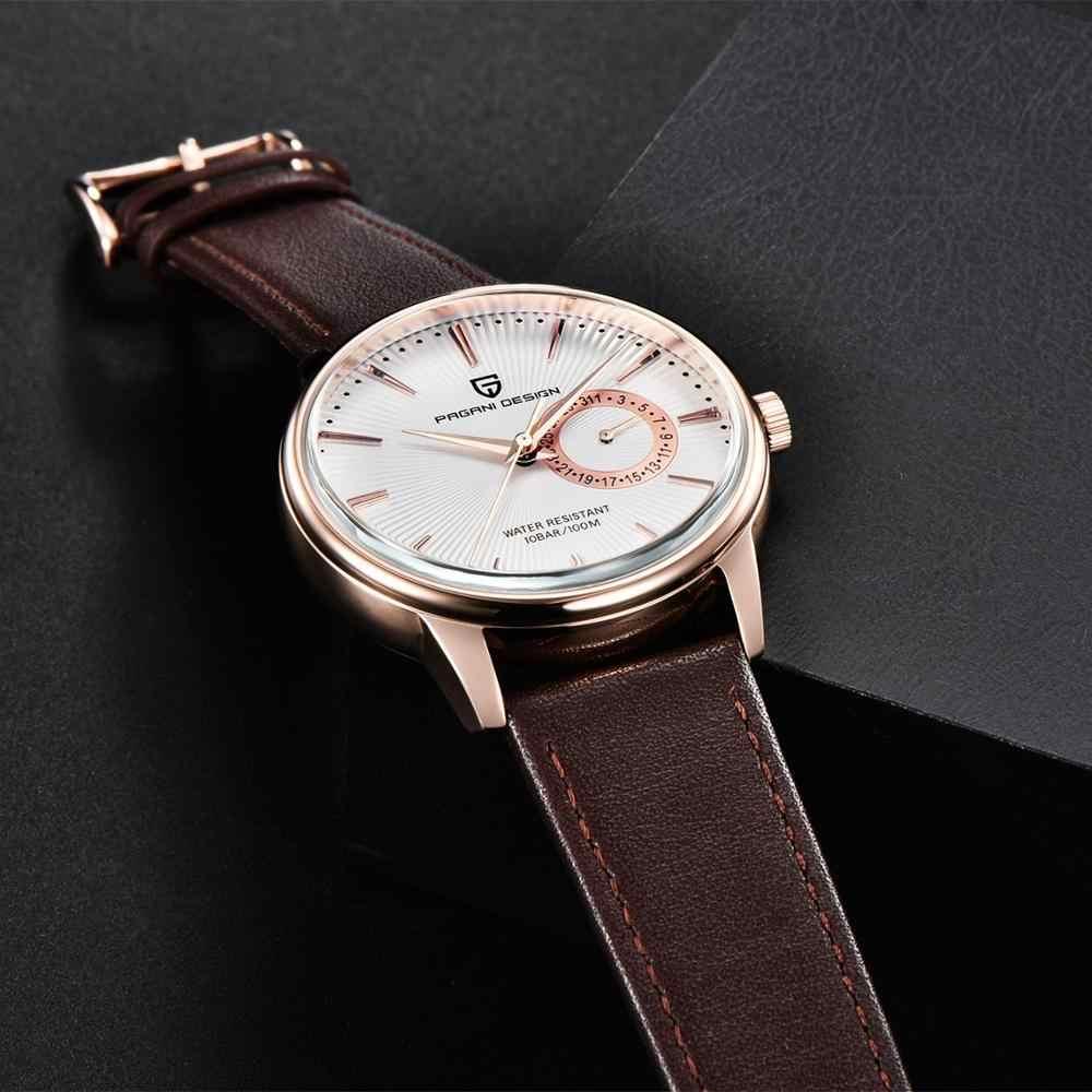 2020 PAGANI DESIGN นาฬิกาผู้ชายแบรนด์หรูผู้ชาย Chronograph กีฬากันน้ำ Casual นาฬิกา Relogio Masculino + กล่อง