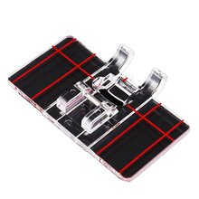 Plastic Parallel Sewing Machine Presser Foot for Household Darning Accessories Sewing Machine practical parts 1pcs locking edge sewing edge sewing machine foot 7310 metal household multifunction presser feet for sewing machine accessories