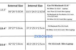 "Image 2 - Shockproof Laptop Bags For HUAWEI MateBook X Pro 13.9"" MateBook E 12"" MateBook D MateBook B 15.6"" Multi use Design Laptop Case"