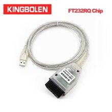 INPA K+ CAN с FT232RL чип Диагностический кабель для BMW K+ DCAN зеленая Плата USB диагностический интерфейс считыватель кода для бортовой диагностики