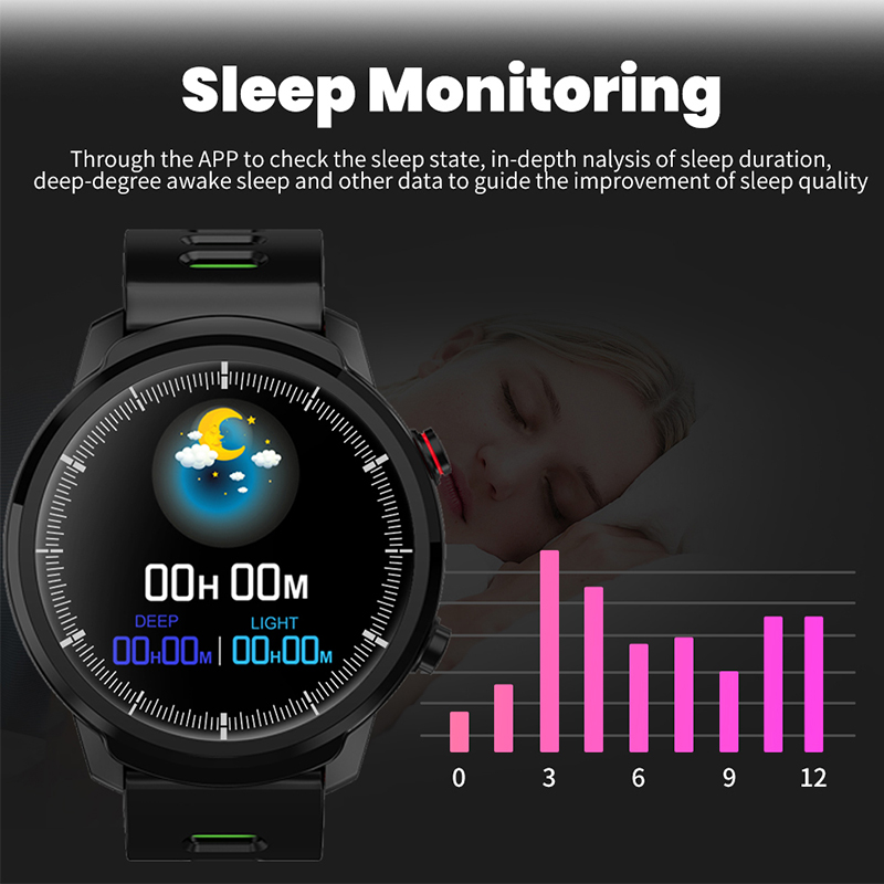 LIGE men and women sports watch heart rate blood pressure monitoring waterproof information reminder Smartwatch for Android ios in Smart Watches from Consumer Electronics