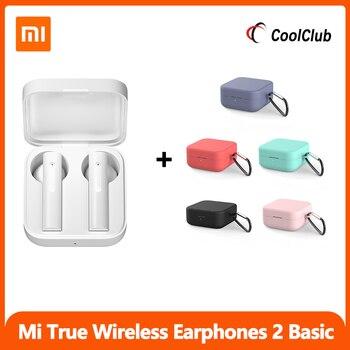 Xiaomi Air2 Se Tragbare Kopfhörer CN Version TWS Mi Wahre Drahtlose Bluetooth 5,0 Grundlegende Air 2 Se Ohrhörer 20H batterie Touch Control
