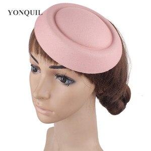 """Image 5 - 6.3 """"(16 CM) 19 farben Mini Top Fascinator Hüte Heißer Verkauf Party Mode Hüte DIY Haar Zubehör Headwear Pillbox Hüte MH018"""