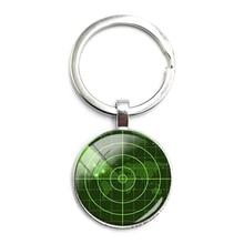 Keychain Jewelry Charm Radar-Screen Sailors Gift Ship Handmade Trendy Picture Navy Hot