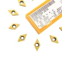 10 шт. DCMT11T304 dcmt32,51 US735 твердосплавные вставки внутренний токарный инструмент DCMT 11T304 токарные инструменты Фрезерный резак инструмент с ЧПУ