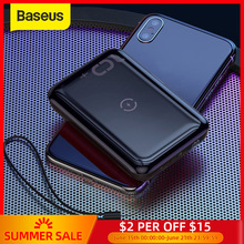 10000mah usb power bank external battery quick charge wireless charging pad powerbank portable mobile phone charger Baseus 10W Wireless Power Bank 10000mah Quick Charge 3.0+PD3.0 Powerbank Wireless Charging External Battery Charger For Xiaomi