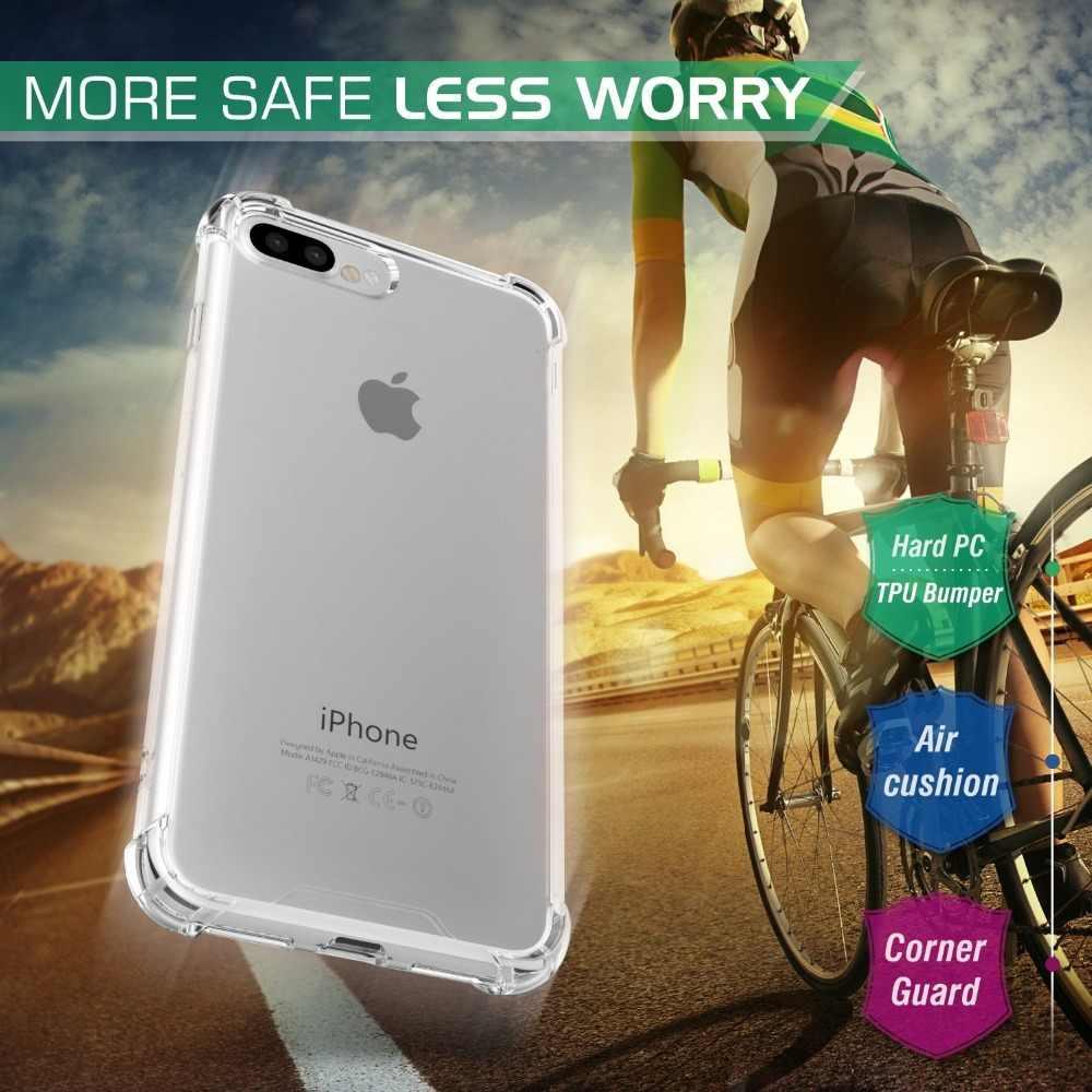 บางกรณีโทรศัพท์โปร่งใสสำหรับ iPhone 2019 11 PRO MAX XS MAX กรณี 6S XR กรณีสำหรับ iPhone X XS MAX XR 6 7 6S 8 PLUS 5 SE