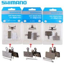 Shimano Original Pads Semi-metall harz B01S G01S G02A Deore SLX XT XT R SAINT ZEE M7000 M8000 M9000 m640 шифтер shimano xt di2 m8050 для заднего переключателя