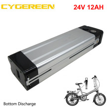 Electric-Bike-Battery Charger Lithium 12AH Silver 24V BMS 350W 15A with Customs-Fee
