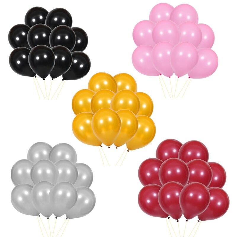 10-20 Rojo globos de látex de impresión de Mickey Mouse Fiesta De Cumpleaños Boda Decoración Globos