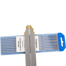 Tungsten Electrode TIG 10pcs Gold-Head Lanthanated