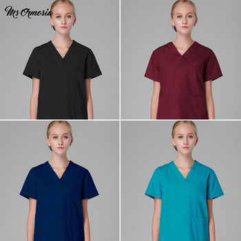 fashion Pure cotton sets Scrub workwear uniform Beautician suits spa lab uniform pet shop scrub uniform work clothes wholesale lab series invigorating face scrub