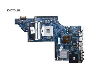 639390-001 for HP PAVILION DV7T-6000 NOTEBOOK for HP Pavilion DV7-6000 HM65 Laptop motherboard PGA989 DDR3 6490/1G 100% tested