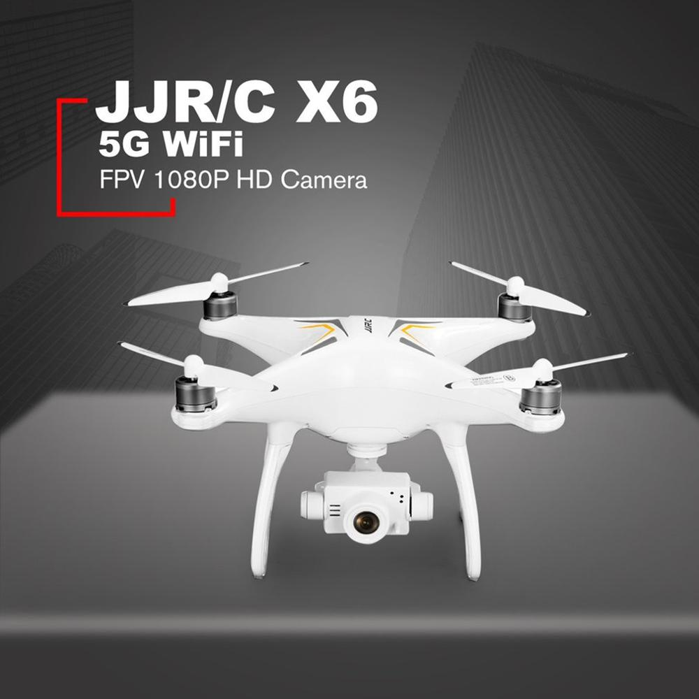 JJR/C <font><b>X6</b></font> GPS Drone Professional Brushless Drone 5G WiFi FPV 1080P HD Camera Selfie RC Drone <font><b>Follow</b></font> Me Mode Kids Toy Gifts image