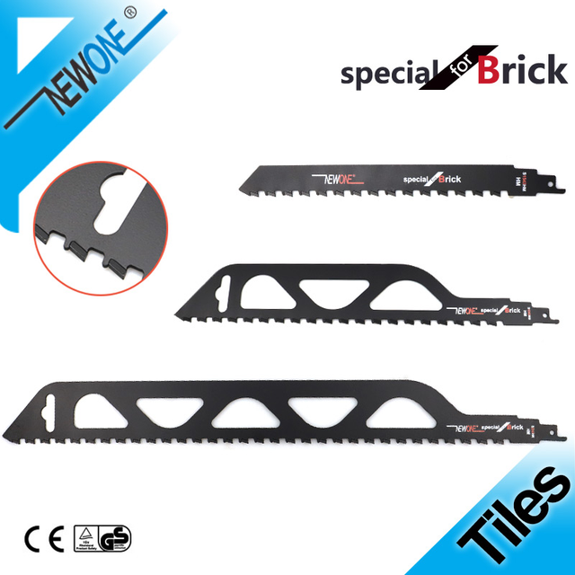 Reciprocating Saw Blade Cutting TCT Brick Stone With Carbide Teeth Demolition Masonry Saber Saw Power Tools Accessories NEWONE