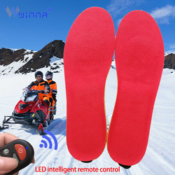 New Electric Heated Insoles with Remote Control Breathable Smart Warm Foot Winter Outdoor Sport Thermal Insole for Men EUR 40-46