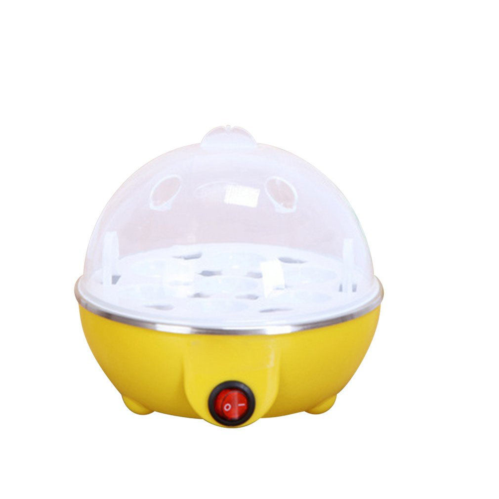 Multifunctional Electric Boilers  Rapid Egg Cooker 7 Eggs Capacity Auto-off Fast Egg Boiler Steamer Cooking Tools