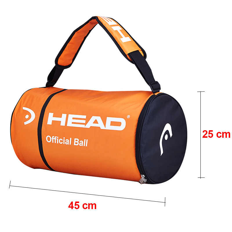 Głowa piłka tenisowa torba pojedyncze ramię rakieta torby tenisowe duża pojemność dla 70-100 sztuk piłki akcesoria z izolacją cieplną
