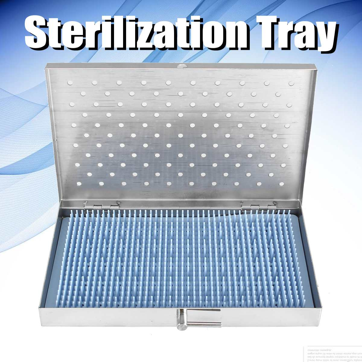Stainless Steel Sterilization Tray Surgery Surgical Instrument Tool Box Sterilization Case Middle Size Surgery Surgical Tool