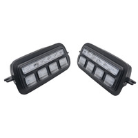 2Pcs Applicable To Lada Niva 4X4 1995+ Led Daytime Running Light with Turn Signal Light Drl Car Headlight Replacement Parts