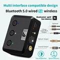 MR235B оптический коаксиальный Bluetooth 5,0 приемник aptX ll 3,5 мм разъем Aux беспроводной аудио адаптер aptX низкая задержка