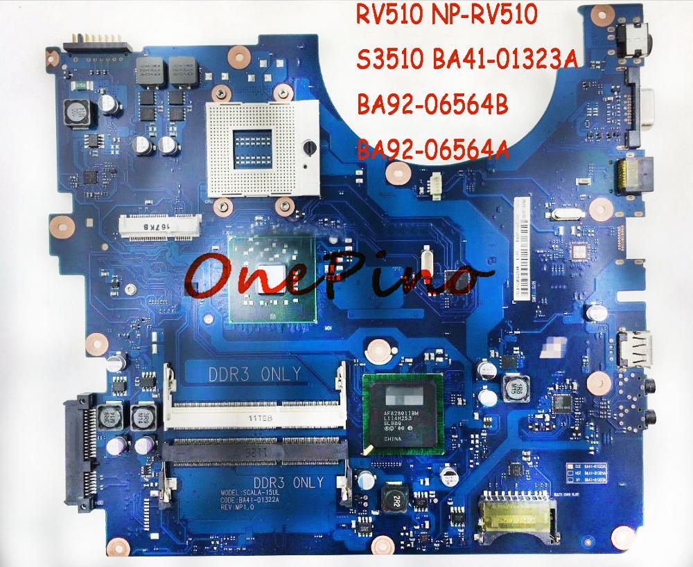 BA92-06564A BA92-06564B Fit For RV510 NP-RV510 Laptop Motherboard S3510 BA41-01323A System Board DDR3 Tested