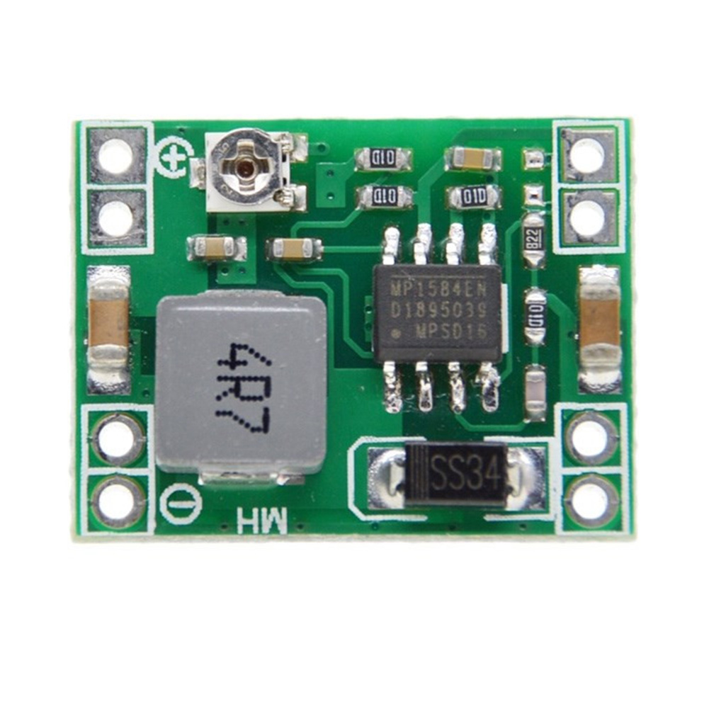 Network Car Ultra Small Camera Power Supply Adjustable Effective Step Down 3A Lower Voltage Regulation Module