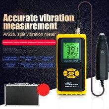 Digital Vibration Meter Analyzer Handheld Vibrometer Vibration Test Tool Meter AR63B PUO88