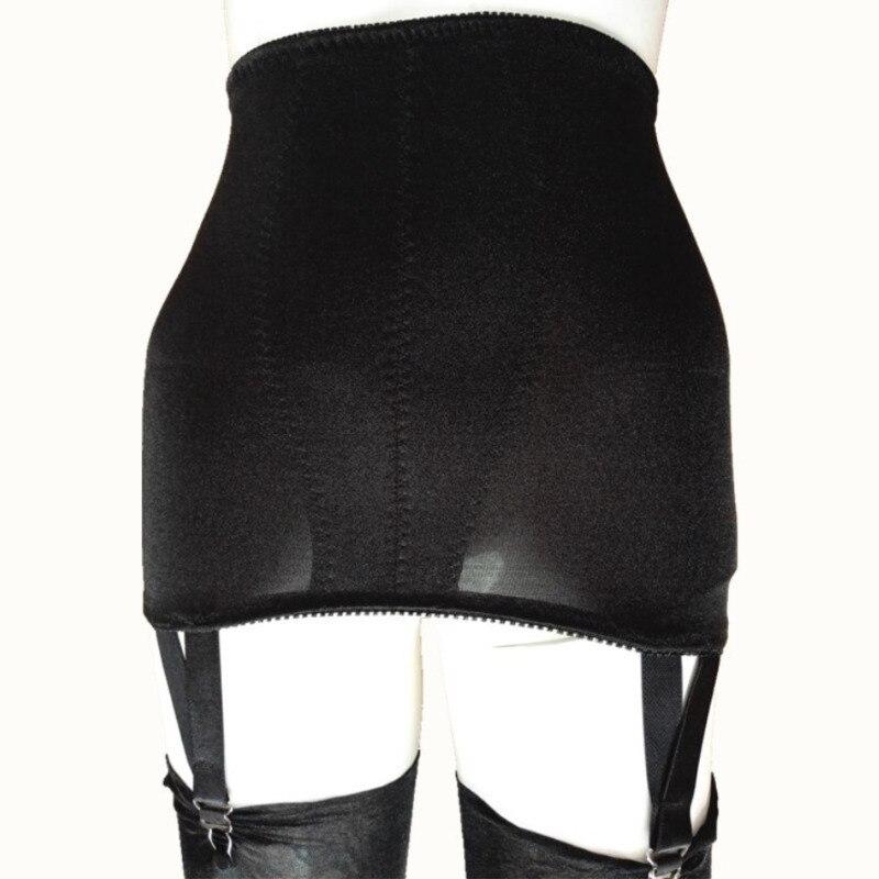 Sexy Garter Belt Women High Waist Lace Elastic Plus Size Sexy Women Lingerie Skirt Suspender Garter Belt For Thong Stocking